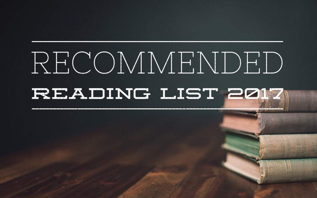 Recommended Reading List 2017